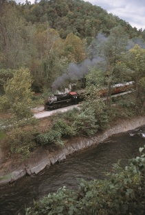 1702 along the banks for the Nantahala