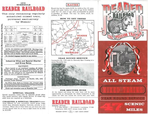 Reader Brochure 1972